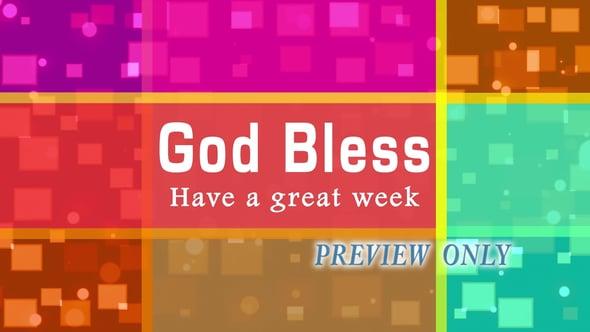 God Bless: Geometric Goodbye Video