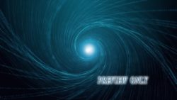 Spinning Light Rays Motion Loop