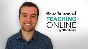 free win at teaching online