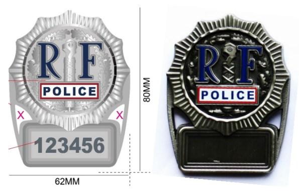 plaque-police-collector