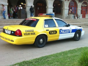 police-taxi