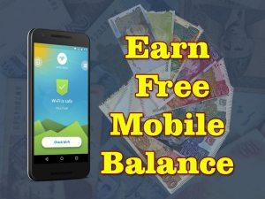Earn Free Mobile Balance