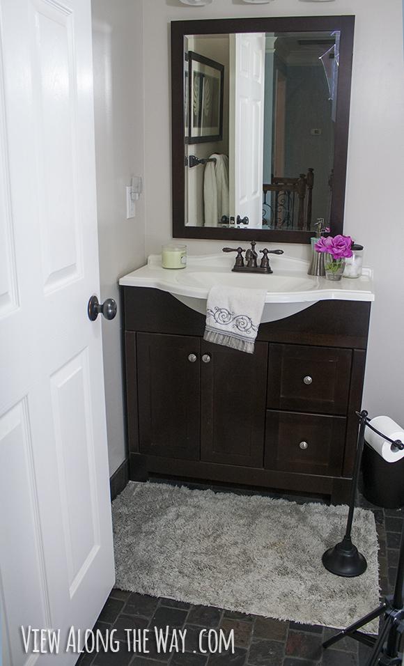 Upgrade Bathroom on a Budget