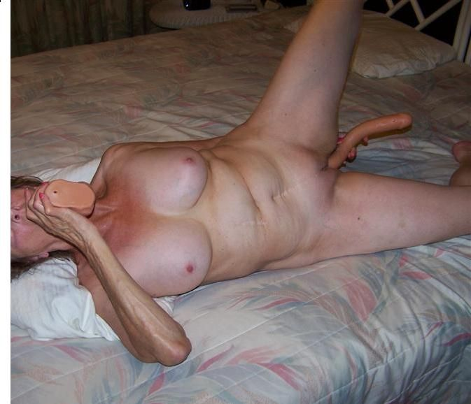 Amusing Husband and wife double dildo