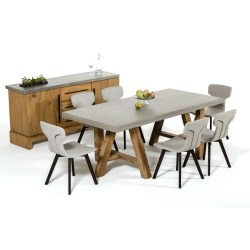 Small Crop Of Concrete Dining Table