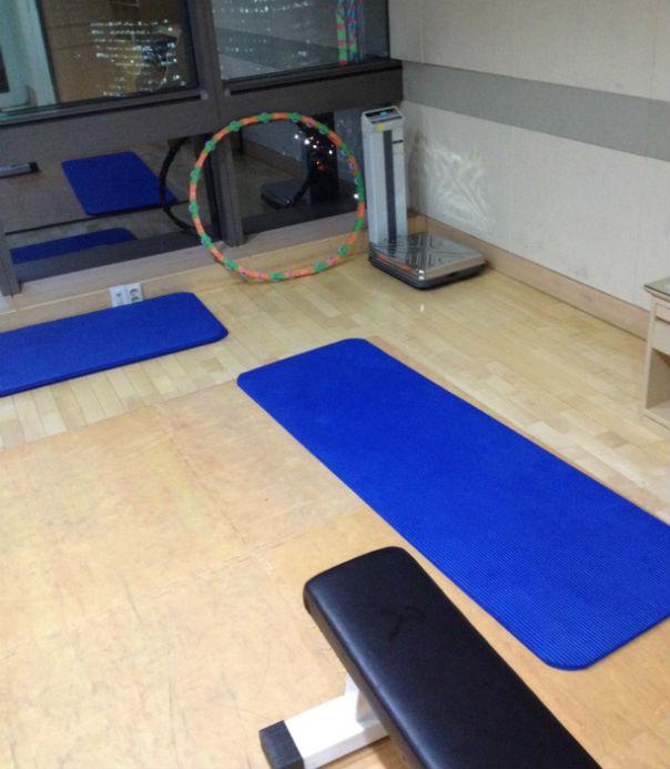 the weightroom
