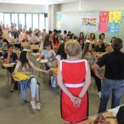 302 alumnes de Vila-real reben el diploma de les V proves matemàtiques 'Canguret'
