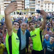 """Andrés i José Ángel coincideixen en que """"és un honor vestir la camiseta del Villarreal"""""""