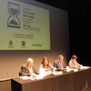 Mónica Oltra visita Vila-real amb motiu de la inauguració del Congrés dels Nous Usos del Temps a l'Auditori