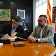 El socialista Patxi López visita Vila-real