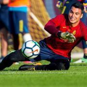 """El porter Andrés Fernández diu que """"la defensa tornarà a ser clau enguany"""""""