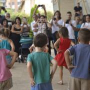 Música i globus per acomiadarl'Aplec, que ha oferit activitats i menjador a 800 xiquets i xiquetes en 2017