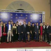 Benlloch recolza elsector de la moda valencià amb la seua assistència a la desfilada de Miquel Suay en Gandia