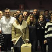 Compromís per Vila-real celebra el tradicional sopar de Nadal amb els mitjans de comunicació