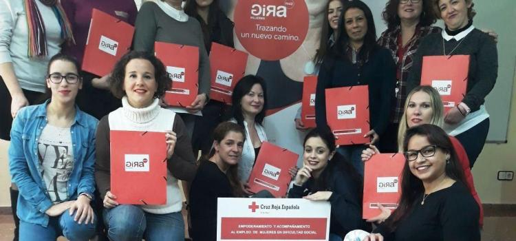 Coca Cola i Creu Roja ajuden a dones de Vila-real a millorar laocupabilitat i fomentar l'emprenedoria
