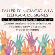 El Casal Popular de Vila-real prepara un taller d'iniciació a la llengua de signes