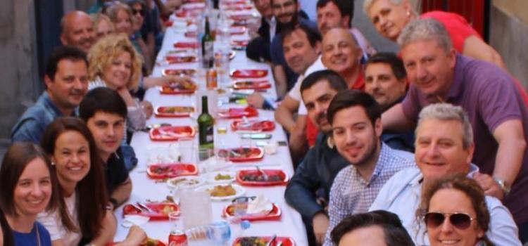 Un centenar d'assistents celebren les festes de Sant Pasqual amb el PSPV-PSOE