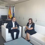 Benlloch es reuneix amb la directora general d'Innovació per incentivar l'ecosistema innovador