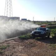 Sanitat aplica un tractament d'urgència antimosquits en detectar-se un focus a l'entorn de la Ciutat Esportiva Pamesa