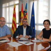 Vila-real i Almassora treballen en el primer pla de gestió del BIC del pont medieval de Santa Quitèria