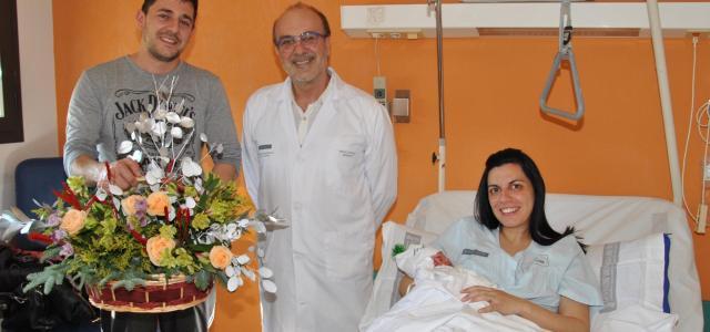 Valeria primera xiqueta nascuda a Vila-real en 2019