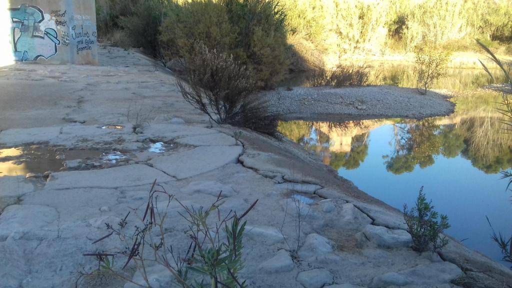 Assut de Borriana sense aigua 1