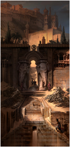 Prince of Persia Forgotten Sands Gate Fortress