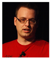 Patrick Plourde - Photo Credit: GDC 2010