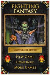 Fighting Fantasy Creature of Havoc