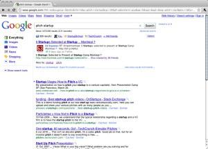 wajam results in Google