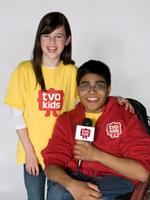 Emma Evans and Hisham Mohammad Photo Credit: CNW Group/TVO