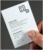 ocadu new logo application example