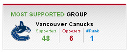 Crowd Fanatic Canucks Group