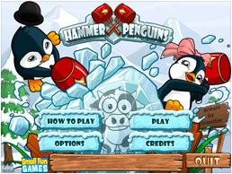 Hammer Penguins start screen