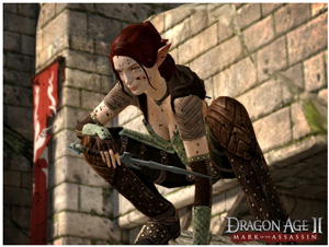 New Dragon Age 2 character Tallis is played by Felicia Day