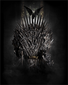 Iron Throne from HBO's Game of Thrones will be in Vancouver March 23 (Photo Courtesy HBO Canada)