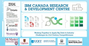 The Governments of Canada and Ontario, with IBM, the University of Toronto and Western University will collaborate to establish a new Ontario-based $210 million dollar research and development initiative, including the formation of the IBM Canada Research and Development Centre. (image: IBM)