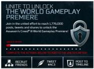 Unite To Unlock Assassin's Creed III
