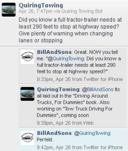Bill And Sons Towing on Twitter