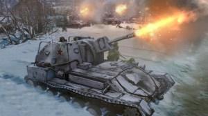 Company of Heroes 2 Soviet SU-76 Tank
