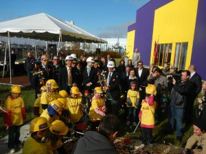 official Ground Breaking at Legoland Discovery Centre Toronto