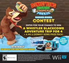 Donkey Kong Tropical Freeze Contest