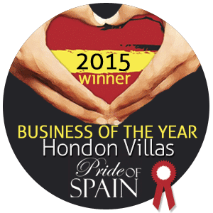 We womn the Business of the Year!