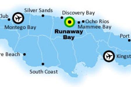 jamaica map runaway bay