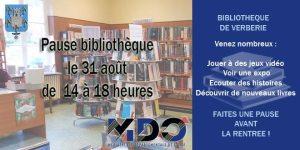 Pause bibliothèque @ Bibliothèque de Verberie | Verberie | Nord-Pas-de-Calais Picardie | France