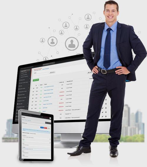 Site para Imobiliária com uma solução de CRM Imobiliário
