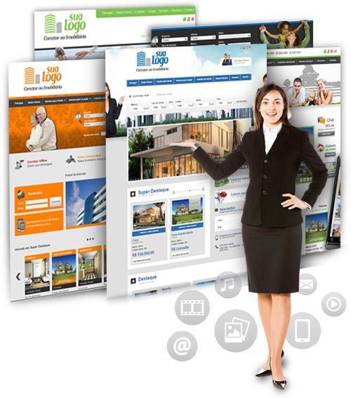 Site para Imobiliária dinâmico. Tenha seu site agora.