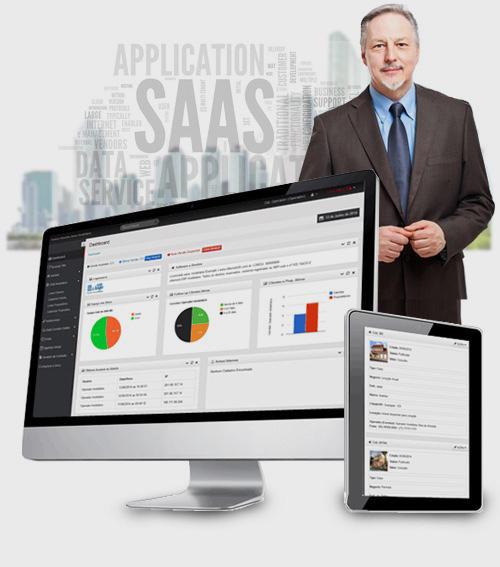 Software de gestão com Site para imobiliária dinâmico. Software Imobiliário.