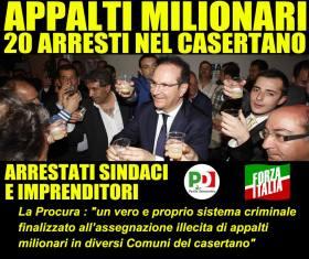 appalti-milionari-a-caserta-20-arrestati-partito-democratico-forza-italia