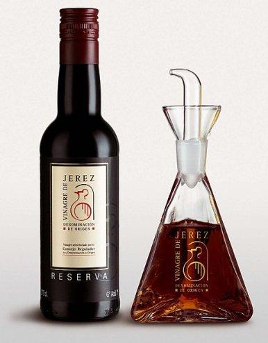 vinaigre de Xeres Gran Reserva (10 ans de vieillissement en fût de chêne)